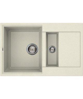 Кухонная мойка Elleci Easy 325, 780*480, granitek (62) LGY32562