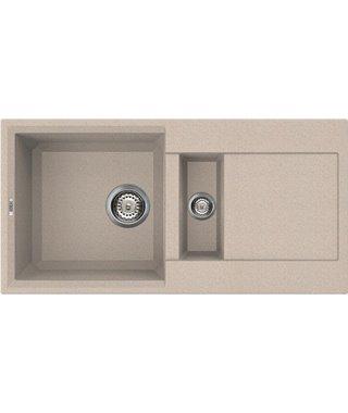 Кухонная мойка Elleci Easy 425, 860*435, granitek (51) LGY42551
