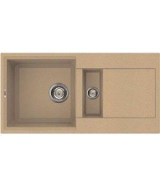 Кухонная мойка Elleci Easy 425, 860*435, granitek (69) LGY42569
