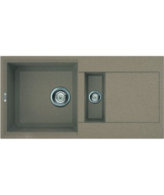 Кухонная мойка Elleci Easy 425, 860x435, granitek (43) LGY42543