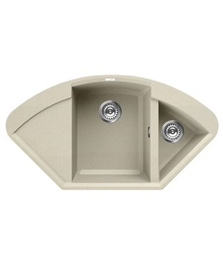 Кухонная мойка Elleci Easy Corner, 1057*575, granitek (62) LGYCOR62