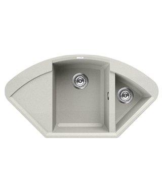 Кухонная мойка Elleci Easy Corner, 1057*575, granitek (68) LGYCOR68
