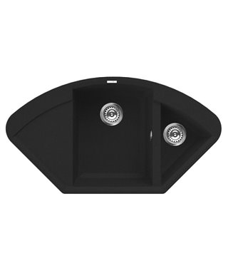 Кухонная мойка Elleci Easy Corner, 1057*575, metaltek (70) LMYCOR70