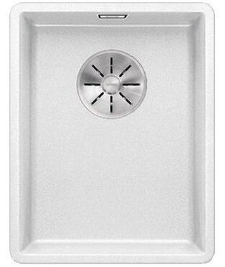 Кухонная мойка Blanco Subline 320-F белый, с отв.арм. InFino