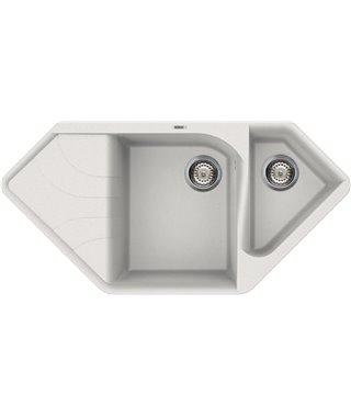Кухонная мойка Elleci Ego Corner, 1000*500, granitek (68) LGECOR68