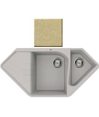 Кухонная мойка Elleci Ego Corner, 1000*500, granitek (69) LGECOR69