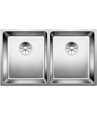 Кухонная мойка Blanco Andano 340/340-U InFino, полированная, 522983