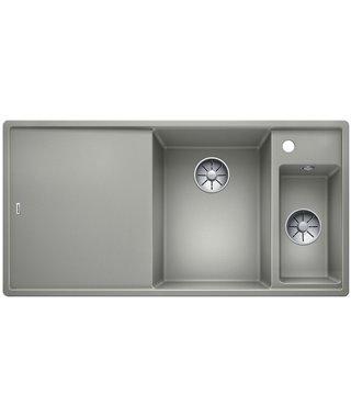 Кухонная мойка Blanco Axia III 6 S жемчужный чаша справа, доска стекло, c кл.-авт. InFino