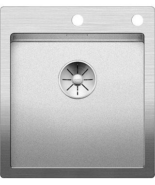 Кухонная мойка Blanco CLARON 400-IF/A, нерж.сталь Durinox