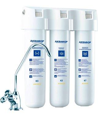Фильтр для воды Аквафор Кристалл, для мягкой воды