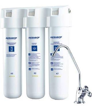 Фильтр для воды Аквафор Кристалл Эко, модификация А без крана