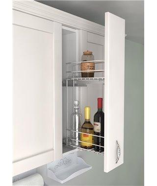 Бутылочница Vauth-Sagel 10210009, c доводчиком, в верхний шкаф, рама 500, фасад 150
