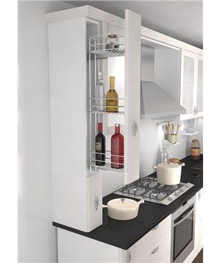 Бутылочница Vauth-Sagel 10210010, c доводчиком, в верхний шкаф, фасад 150, рама 830