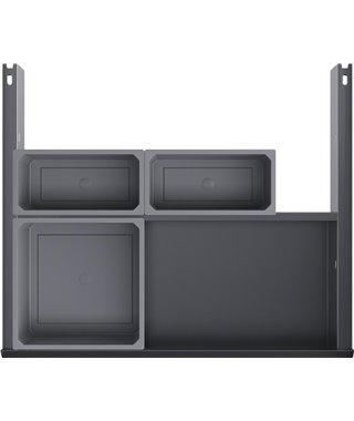 Внутренний выдвижной ящик Vauth-Sagel EKO Liner BASIC 14210002, под мойку, на выдвижной фасад 600 мм