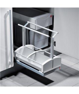 Выдвижная корзина для бытовой химии Hailo Carry 3950001, ширина фасада от 400 мм