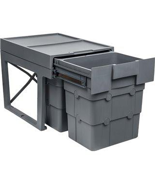 Система сортировки Ninkaplast WasteBoy 14240021, на распашной фасад от 400 мм