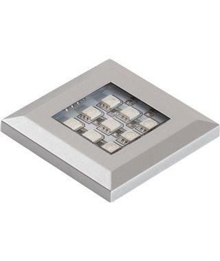Светодиодный светильник Furnika SQUERE 13070015, накладной, свет RGB, цвет алюминий
