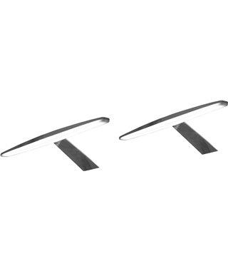 Комплект светодиодных светильников Furnika ELIPSA 13070025, цвет черный, трансформатор