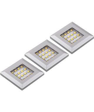 Комплект светодиодных светильников Furnika SQUERE 13070017, накладных, свет-RGB, контроллер, трансформатор