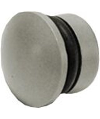 Заглушка для рейлинга Lemi 35108, хром матовый