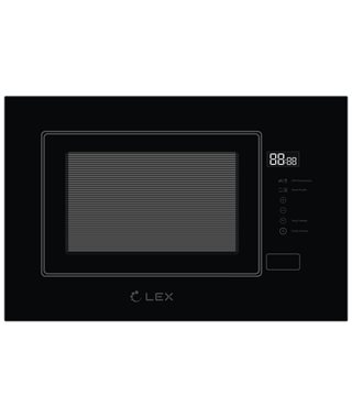 Встраиваемая микроволновая печь LEX BIMO 20.01 BLACK