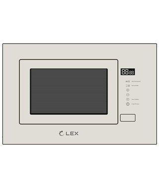 Встраиваемая микроволновая печь LEX BIMO 20.01 IVORY LIGHT