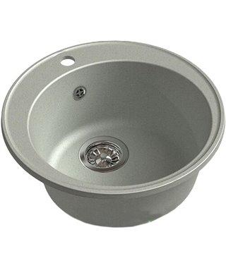 Кухонная мойка Granfest 480 GF-Quarz (ECO-08), серый