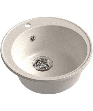Кухонная мойка Granfest 480 GF-Quarz (ECO-08), белый