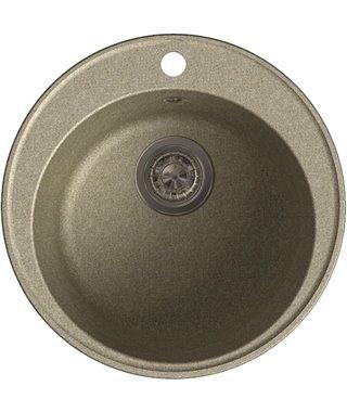 Кухонная мойка Granfest 480 GF-Quarz (ECO-08), песок