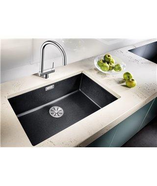 Кухонная мойка Blanco Subline 700-U SILGRANIT серый беж, с отв.арм. InFino