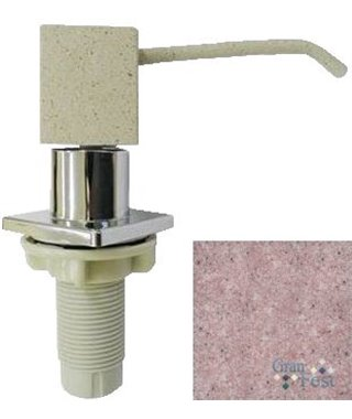 Дозатор для моющего средства Granfest 004, розовый