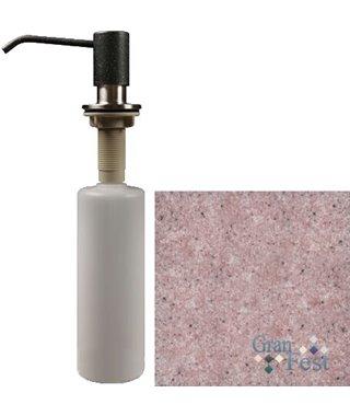 Дозатор для моющего средства Granfest 002, розовый