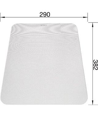 Разделочная доска Blanco 225469 гибкая пластик белый