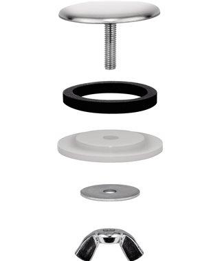 Заглушка отверстия под смеситель Blanco 137164 диаметр 48 мм нерж сталь