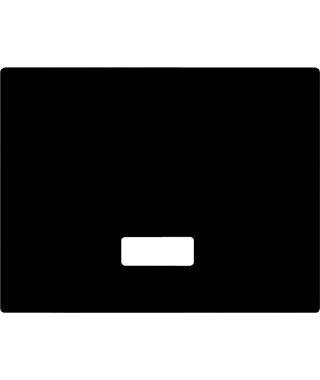 Разделочная доска Schock Разделочная доска Soho, Quadro черное стекло