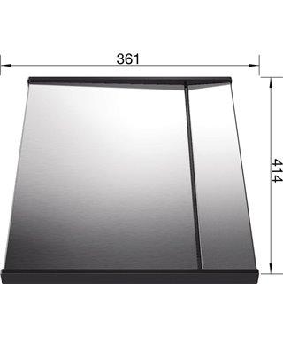 Поддон специальный Blanco со стоком для воды Zerox/Claron нерж. сталь 413x36