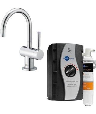 Система мгновенного приготовления кипяченой воды In-Sink-Erator AHC2200, хром