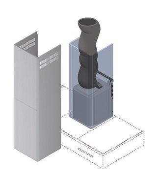 """Система для шумопоглащения Falmec """"Silent System"""" KACL.870"""