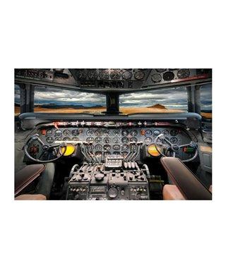 Картина Signal AIRPLANE COCKPIT 120x80