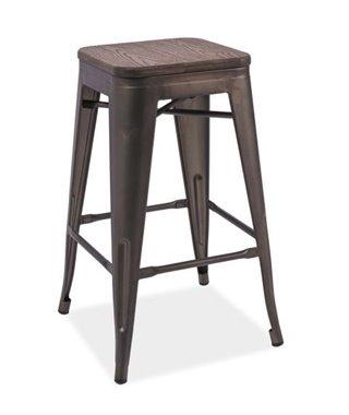 Барный стул Signal LONG (орех/графит)