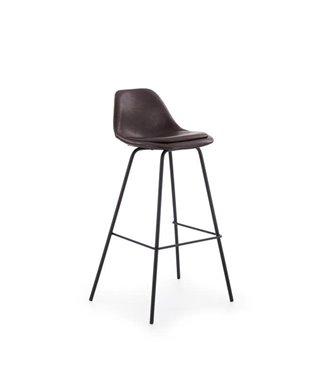 Барный стул Halmar H-90 (темно-коричневый/черный)