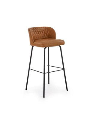 Барный стул Halmar H-92 (светло-коричневый/черный)