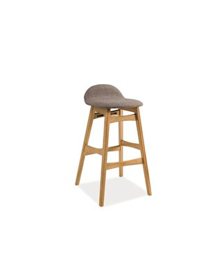 Барный стул Signal TRENTO (дуб/серый)