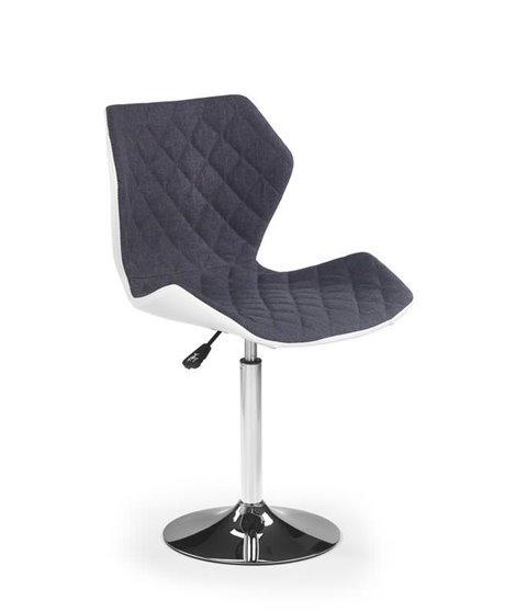 Барный стул Halmar MATRIX 2 (бело-серый)