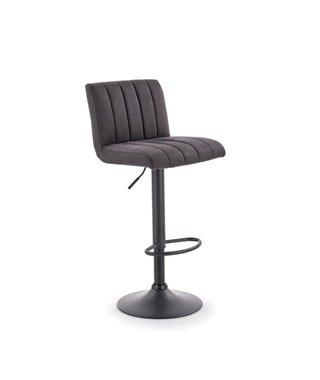 Барный стул Halmar H-89 (темно-серый/черный)