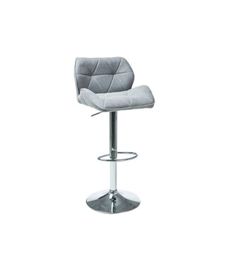 Барный стул Signal C-122 (серый, ткань)