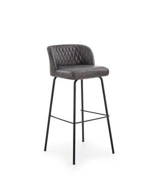 Барный стул Halmar H-92 (темно-серый/черный)