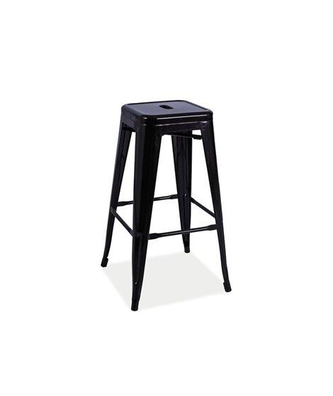 Барный стул Signal LONG (черный матовый)