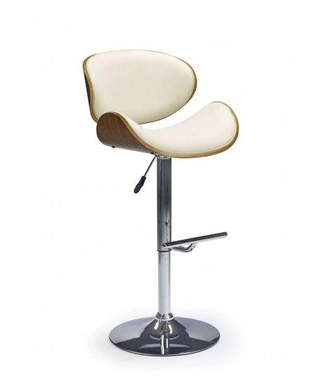 Барный стул Halmar H-44 (орех/кремовый)