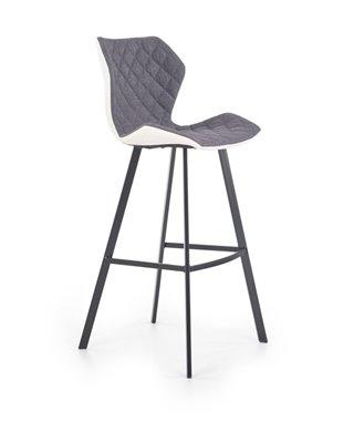 Барный стул Halmar H-83 (белый/серый)